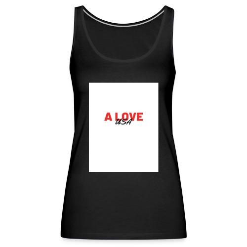a love usa - Débardeur Premium Femme