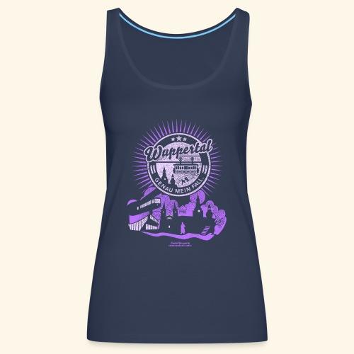 Wuppertal T Shirt Design Spruch Genau mein Fall - Frauen Premium Tank Top