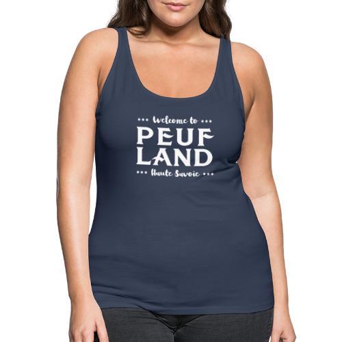 Peuf Land 74 - white - Débardeur Premium Femme