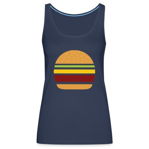 Logo Burger Panhamburger - Débardeur Premium Femme