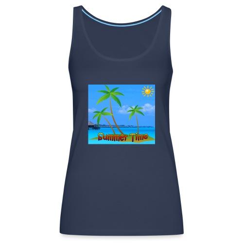 Cool summer coconu - Vrouwen Premium tank top