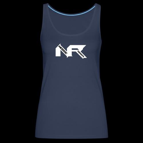 Noise Riser Logo - Vrouwen Premium tank top