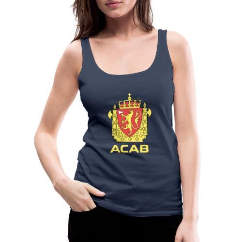 ACAB Logo - Premium singlet for kvinner