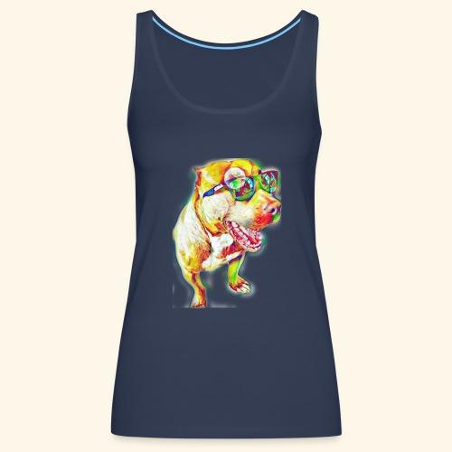 KBOO sticker - Camiseta de tirantes premium mujer