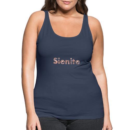 Sienite - Camiseta de tirantes premium mujer