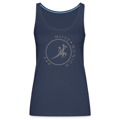 MJive dancers gray solid - Frauen Premium Tank Top