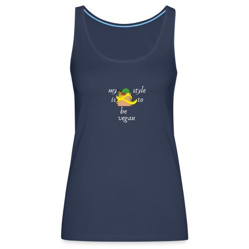 Vegan style - Camiseta de tirantes premium mujer