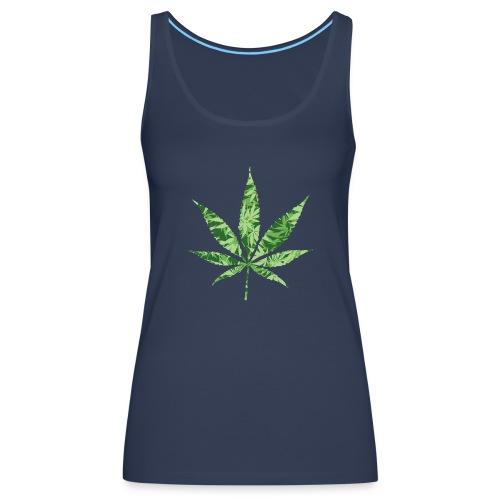 Weed Leaf - Vrouwen Premium tank top