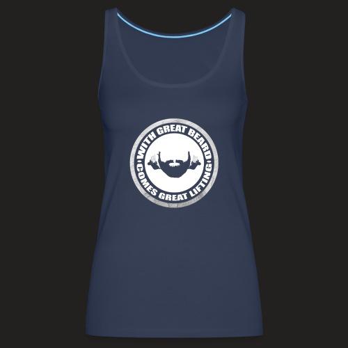 BEARD RESP - Women's Premium Tank Top