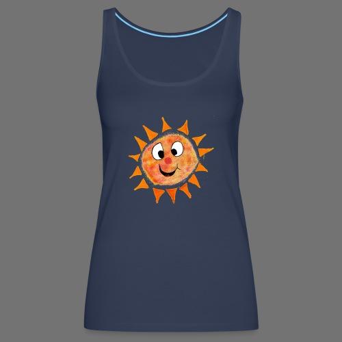 Aurinko - Naisten premium hihaton toppi