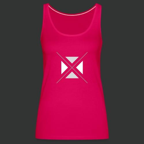 triangles-png - Women's Premium Tank Top