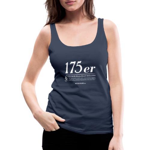 175 er. Protest. White. - Camiseta de tirantes premium mujer