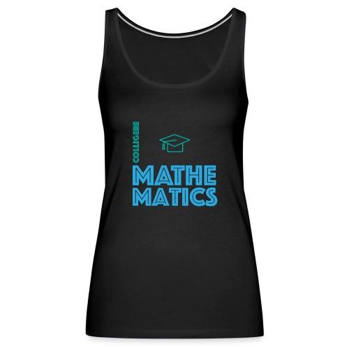 Colligere Math - Premium singlet for kvinner