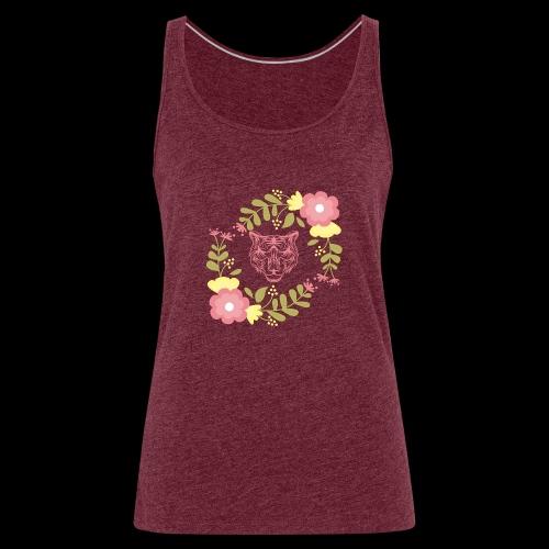 Tee-shirt TIGRE - Débardeur Premium Femme