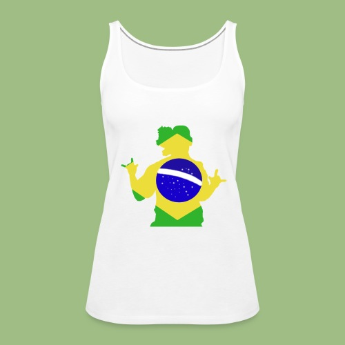 Ronaldinho Brazil - Premiumtanktopp dam
