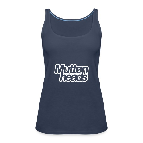 mths logo nb - Women's Premium Tank Top