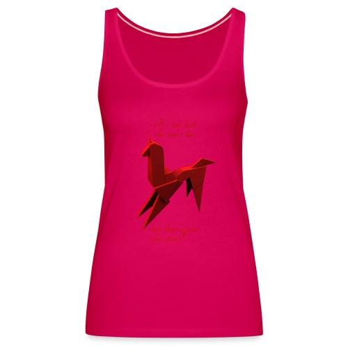 UnicornioBR2 - Camiseta de tirantes premium mujer