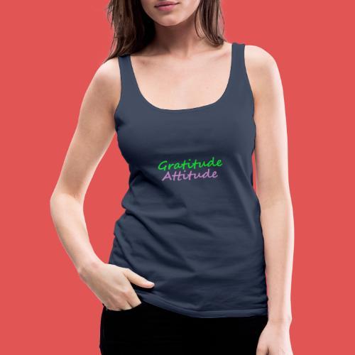 Gratitude - Camiseta de tirantes premium mujer