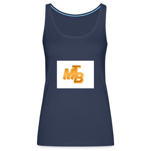 mtb logo gold - Frauen Premium Tank Top