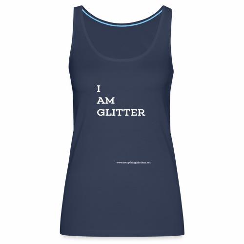 GLITTER - Women's Premium Tank Top