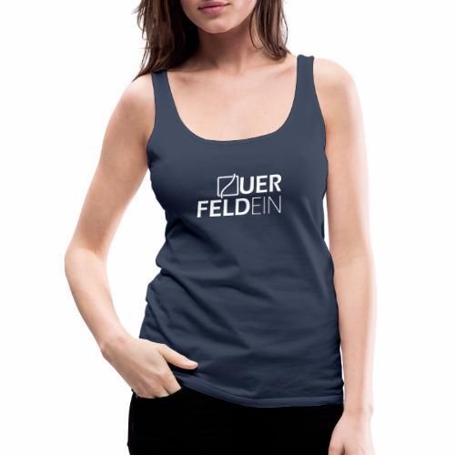 Querfeldein Logo - Frauen Premium Tank Top