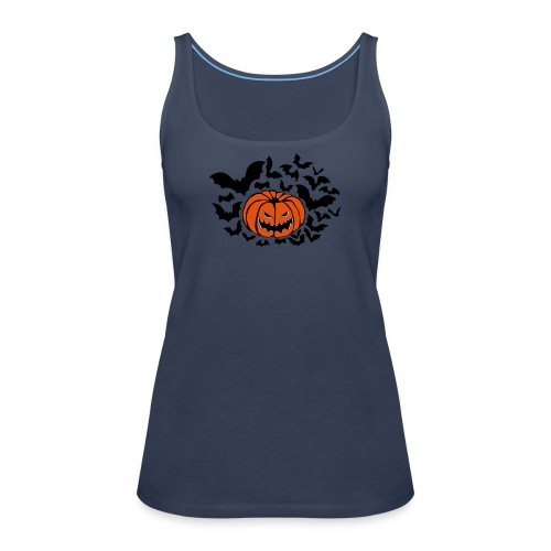 Pumpkin Bats - Women's Premium Tank Top
