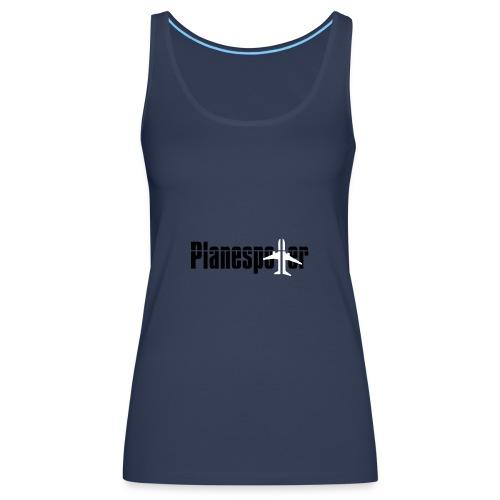 planespotter kopie - Frauen Premium Tank Top