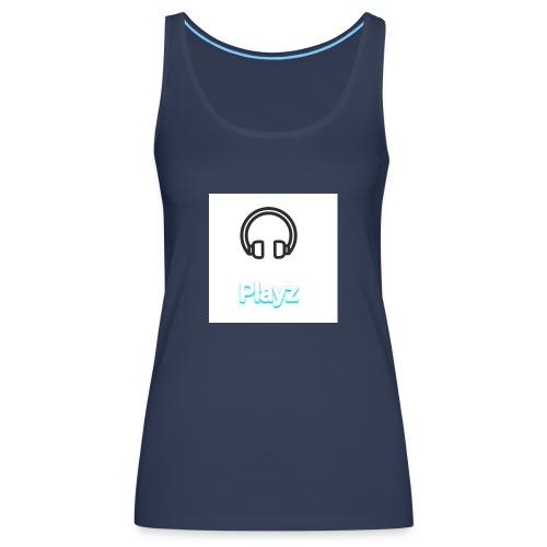 Headphone playz - Women's Premium Tank Top