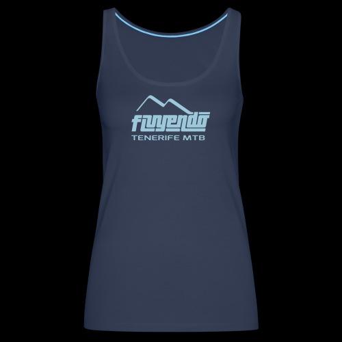 fluyendo logo TNF MTB - Women's Premium Tank Top