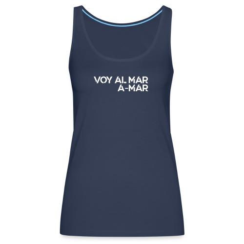 Mar - Camiseta de tirantes premium mujer