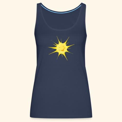 sole - Canotta premium da donna