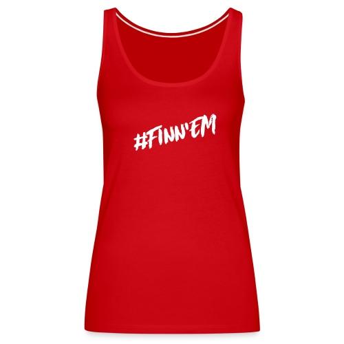 Finn'EM logo - Naisten premium hihaton toppi