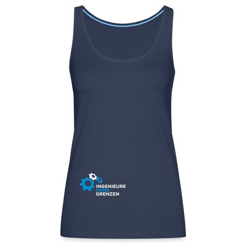 Basecap dunkelblau - Frauen Premium Tank Top