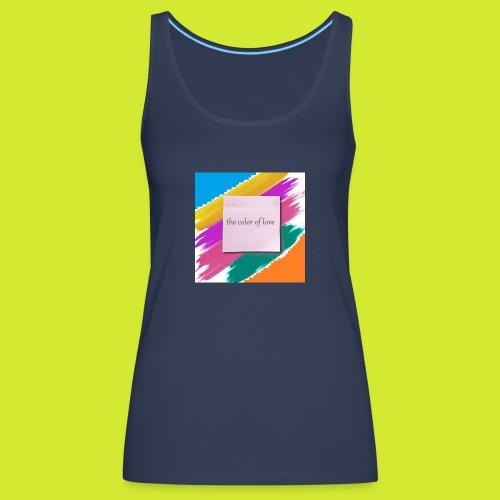 color of love - Frauen Premium Tank Top