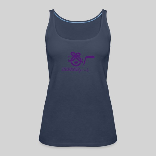 Hockey Girl II - Frauen Premium Tank Top