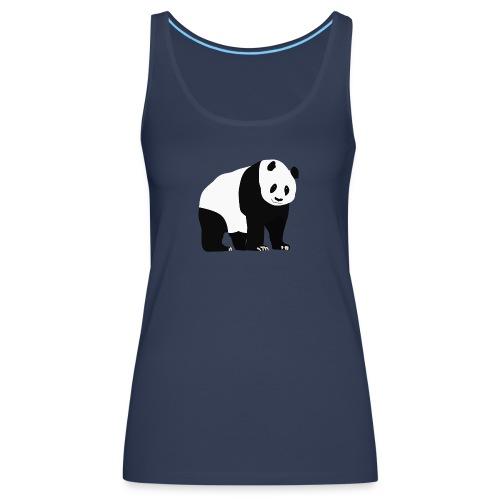 Panda - Naisten premium hihaton toppi