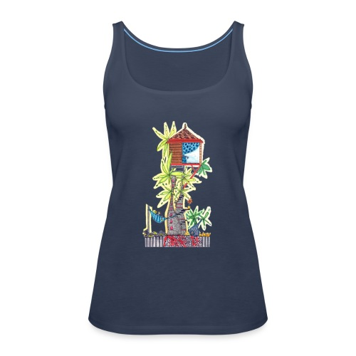 cabanes 1 - Camiseta de tirantes premium mujer
