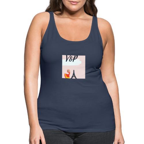 5093CF6A 6ED5 4C11 9553 75CE5F6F2F40 1 - Camiseta de tirantes premium mujer