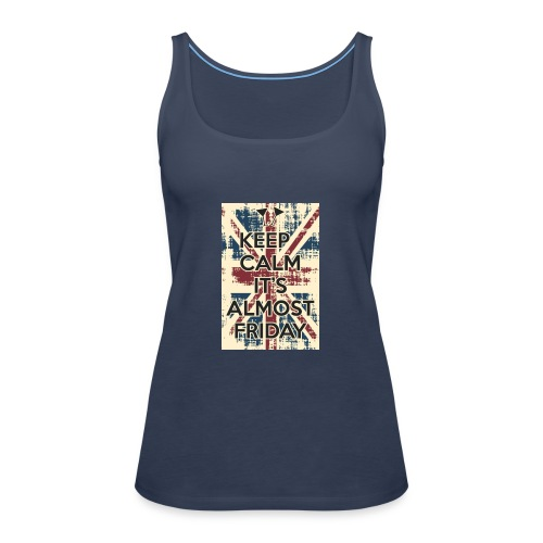 keep calm - Camiseta de tirantes premium mujer