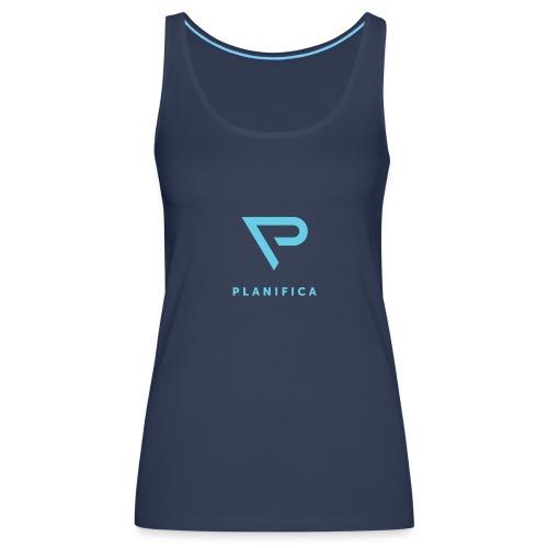 Camiseta Planifica Negra - Camiseta de tirantes premium mujer