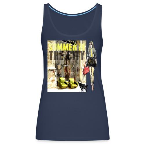 SUMMER IN THE CITY - Frauen Premium Tank Top