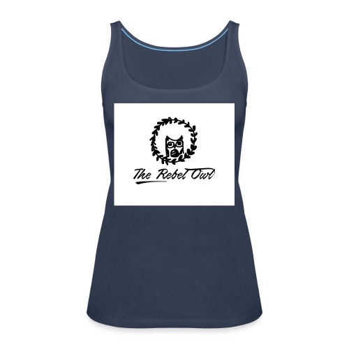 The Rebel Owl 1 - Women's Premium Tank Top