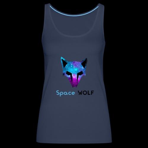 space wolf galaxy - Camiseta de tirantes premium mujer