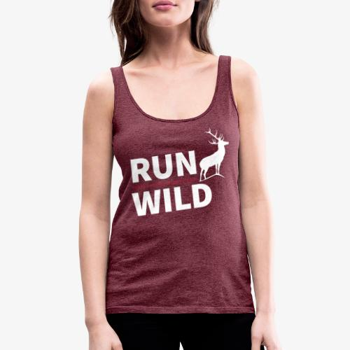 RUN WILD Temple Yard & Beauty Hill - Frauen Premium Tank Top