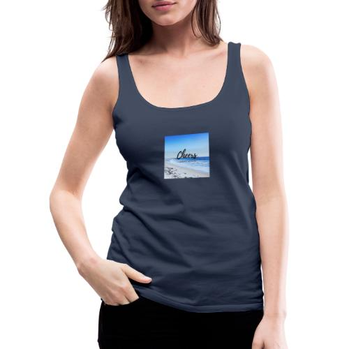 Cheers i love my corona - Frauen Premium Tank Top