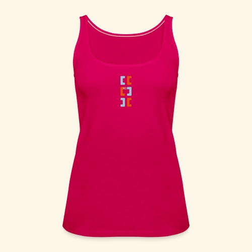 Hoa original logo v2 - Women's Premium Tank Top