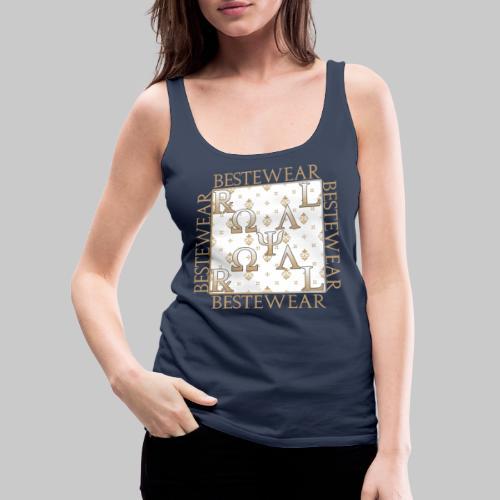 #Bestewear - Royal Line RR - Frauen Premium Tank Top