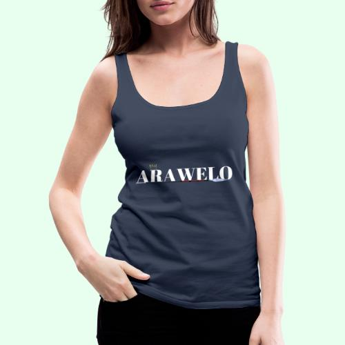 The ARAWELO Collection Gold Crown - Women's Premium Tank Top
