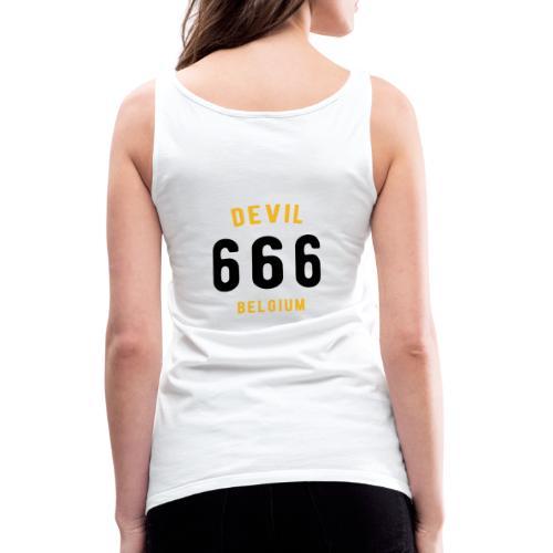 666 devil Belgium - Débardeur Premium Femme