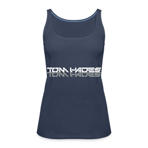 tom hades logo - Vrouwen Premium tank top